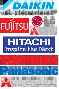 Daikin, Fujitsu, Sony, Misubishi electric, Mitsubishi Heavy Industries, Panasonic