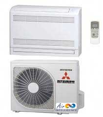 Floor mounted air conditioning units