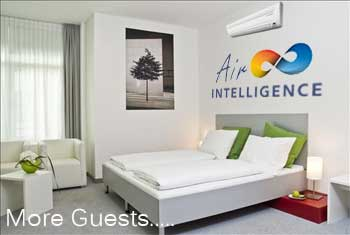 Air conditioning for hotels