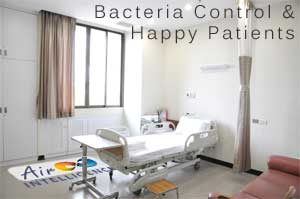 Air conditioning for medical and dentist surgeries