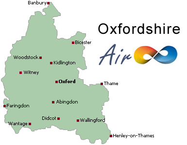 Air conditioning Oxfordshire, Oxon Abingdon, Banbury, Bicester, Charlbury, Didcot, Faringdon, Henley-on-Thames, Oxford, Thame, Wallingford, Wantage, Whitney