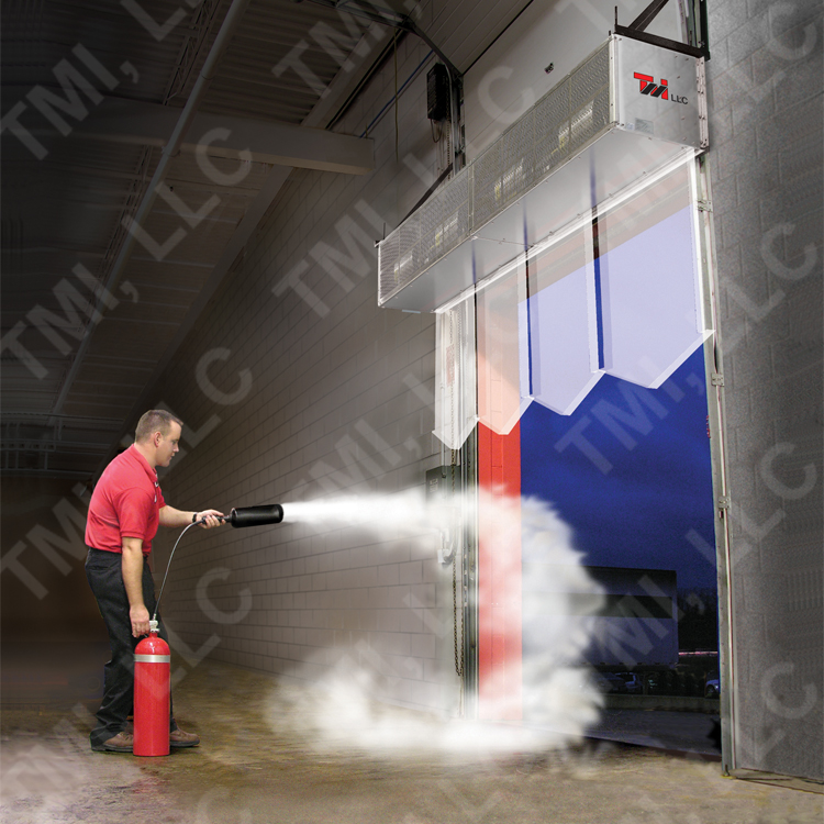 Air Curtains in Warehouses